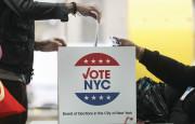 קלפי בבחירות לנשיאות ארצות הברית(צילום: קלפי בבחירות לנשיאות ארצות הברית)