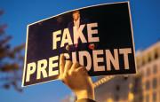 מחאה נגד טראמפ בוושינגטון(צילום: מחאה נגד טראמפ בוושינגטון)
