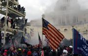 תומכי טראמפ במהומות בוושינגטון(צילום: תומכי טראמפ במהומות בוושינגטון)