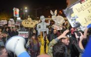 הפגנה נגד השחיתות השלטונית בכיכר הבימה
