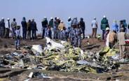 זירת התרסקות המטוס האתיופי