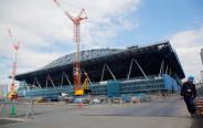 בניית המרכז האולימפי בטוקיו