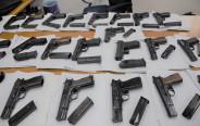 אקדחים שהוברחו מירדן