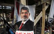 """כרזה בשבחו של מוחמד מורסי: """"אין תחליף ללגיטימיות"""""""