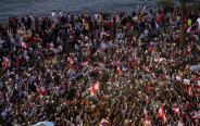 הפגנות ענק בלבנון