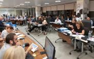 מועצת עיריית תל אביב בהצבעה בעניין תחבורה ציבורית בשבת