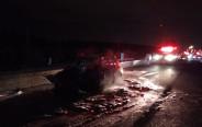 תאונת דרכים סמוך לצומת הדרים