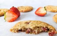 ערוגות התות של אסי – עוגיות תותים ושקדים ללא גלוטן