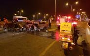 תאונה קטלנית סמוך למחלף ראשונים