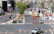 קורונה: ציר ז׳בוטינסקי סגור לתנועת כלי רכב