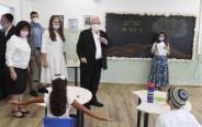 נשיא המדינה ראובן ריבלין בביקור בבית ספר