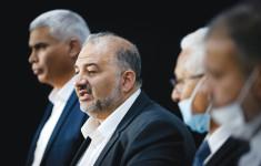 """מנסור עבאס וחבריו למפלגת רע""""ם(מנסור עבאס וחבריו למפלגת רע""""ם)"""
