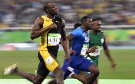 יוסיין בולט זוכה בריצה ל-100 מטרים בריו 2016