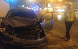 תאונת הדרכים בבאר שבע