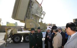 """מערכת """"בוואר 373"""" האיראנית להגנה מפני טילים"""