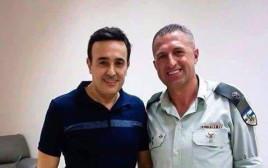 סאבר א-ריבאעי והקצין הישראלי
