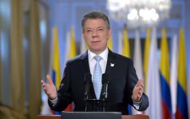 נשיא קולומביה חואן מנואל סנטוס