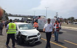 תאונת דרכים בכביש החוף