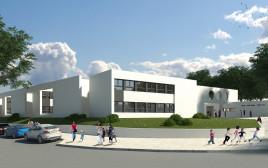 בית ספר בבנייה ירוקה, הדמיה