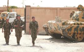 לוחמות ולוחמים כורדים בסוריה