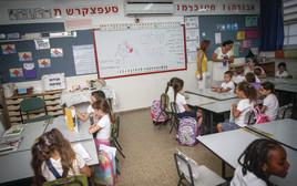 ילדים בבית ספר בירושלים