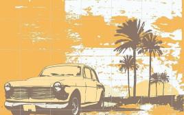 איור מכונית