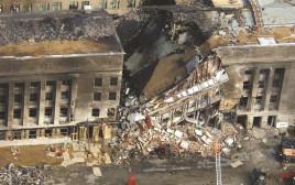 הפנטגון לאחר הפיגוע ב-11.9