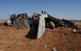 מטוס צבא סוריה שהופל - ארכיון