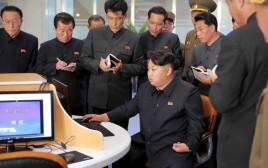 מנהיג קוריאה הצפונית קים ג'ונג און