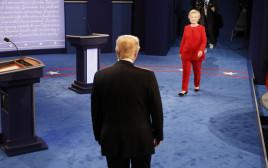 הילרי קלינטון ודונלד טראמפ מגיעים לעימות