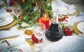 שולחן חג ראש השנה