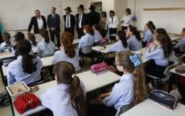 בנות בחינוך החרדי בירושלים. ארכיון