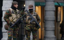 כוננות ביטחונית בבריסל לאחר הפיגועים בחודש מרץ 2016