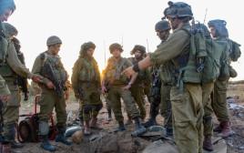 חיילים בכניסה למנהרת טרור מעזה, ארכיון