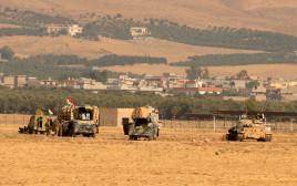 כוחות הפשמרגה הכורדים הלוחמים בסמוך למוסול