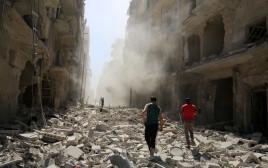 הריסות חלב, סוריה
