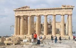 הפרתנון, אתונה, תיירות