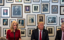 דונלד טראמפ בפגישה עם הניו יורק טיימס