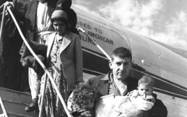 עולים מעיראק מגיעים ארצה, 1950