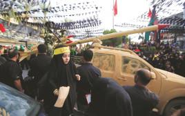 מצעד חיזבאללה בדרום לבנון