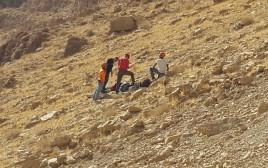 יחידת חילוץ ערד בנחל צאלים