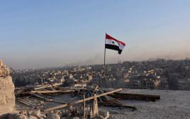 דגל סוריה בחאלב