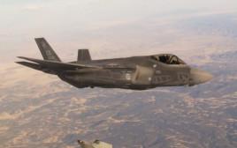 מטוס ה-F35 בדרכו לישראל