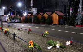 זירת פיגוע הדריסה בברלין, גרמניה