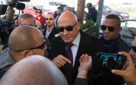חבר הכנסת באסל גטאס לפני החקירה המשטרתית