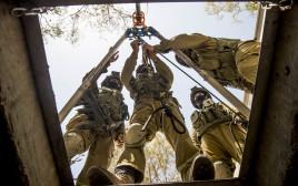 """לוחמי יחידת יהל""""ם בתרגיל"""