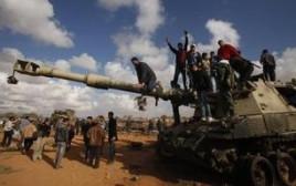 הפגנות בלוב במהלך האביב הערבי
