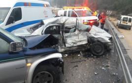 תאונת דרכים קשה בצומת שורשים