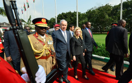 נתניהו בביקור מדיני באפריקה