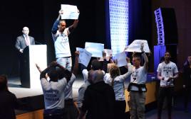 השר בנט והמחאה לשחרור אברה מנגיסטו